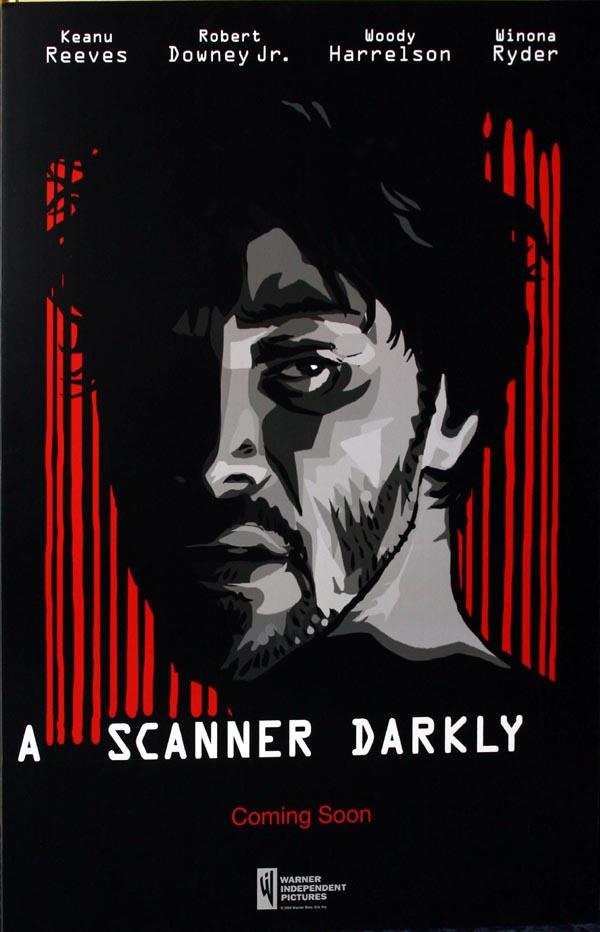 A Scanner Darkly Teaser Poster